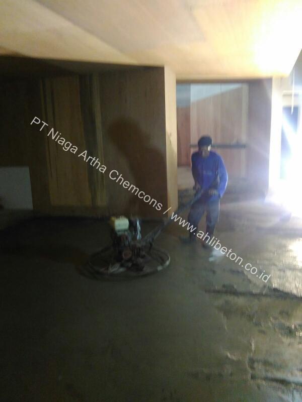 perkuatan lantai beton