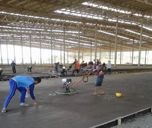 Proses Lantai Floor Hardener