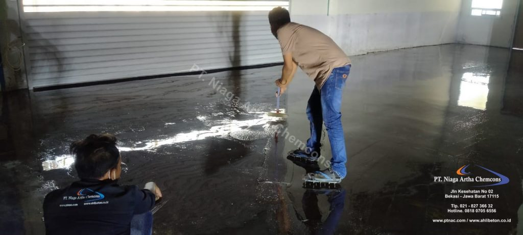 Proses Pekerjaan Floorhardener
